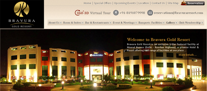Hotels and Resorts in Meerut