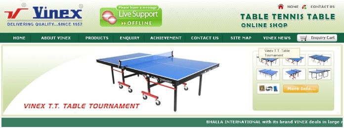 Table Tennis Table Manufacturer
